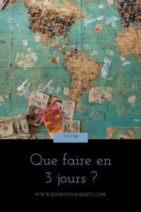 garder argent en voyage