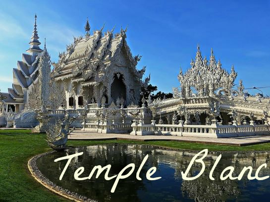 Temple Blanc, entre Science-Fiction et Bouddhisme