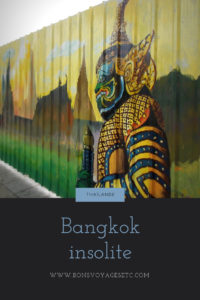 Bangkok insolite
