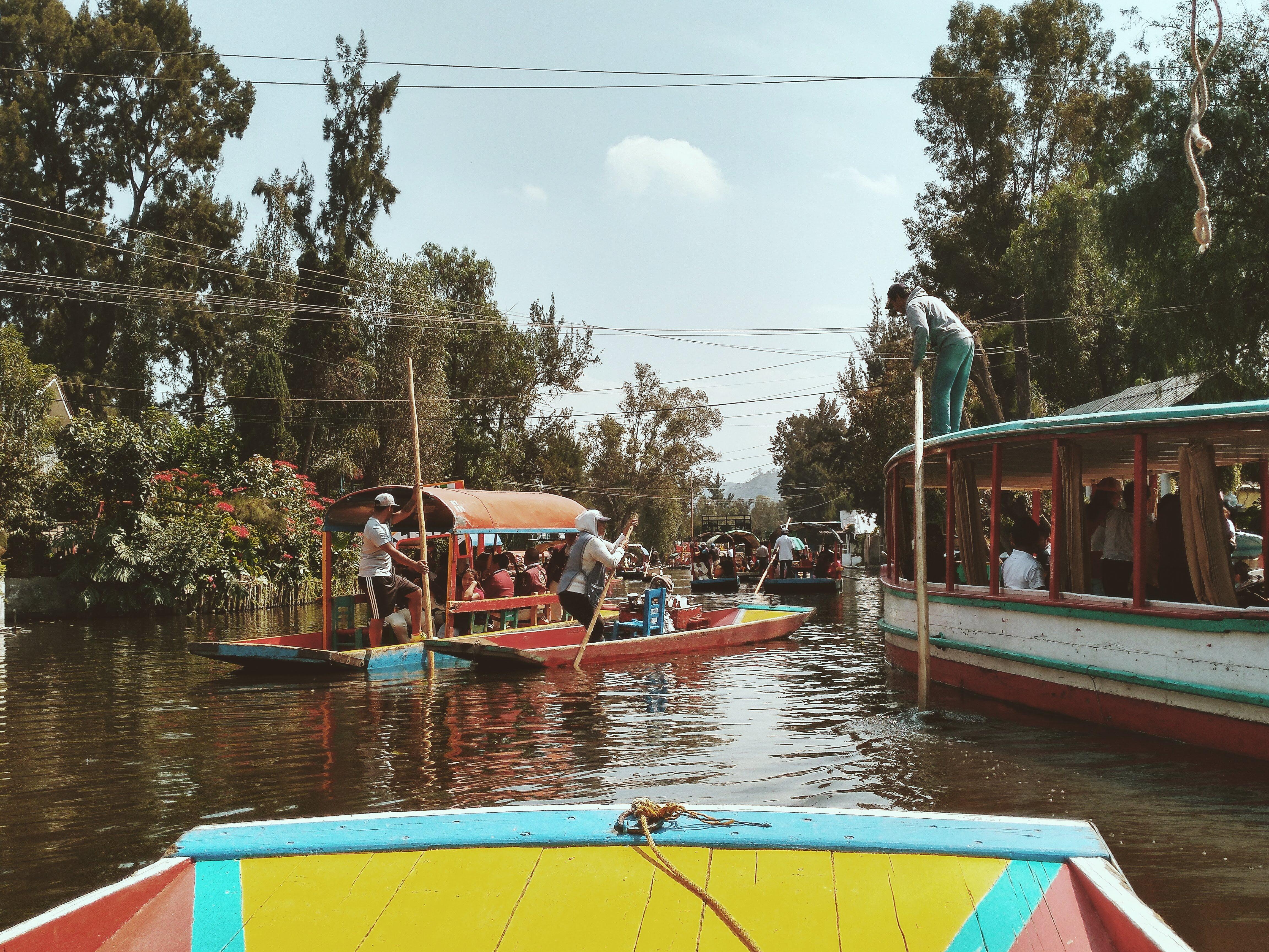Visiter Mexico DF : Xochimilco et Coyoacan