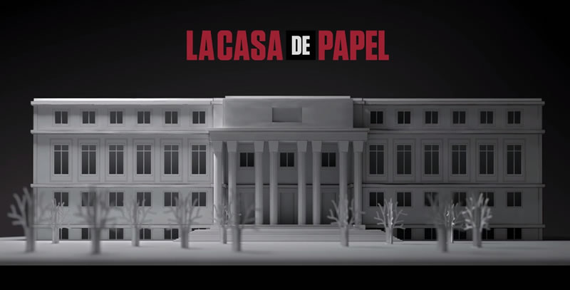 Découvrez les lieux de tournage de la Casa de Papel