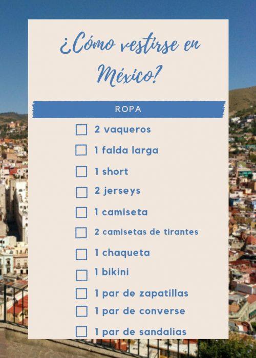 vestirse en México